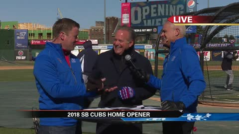 South Bend Cubs Opening Day: Live with owner Andrew Berlin