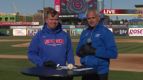 South Bend Cubs Opening Day: Live with Brendan King