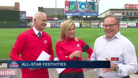 South Bend Cubs owner attends Fan Fest, Home Run Derby