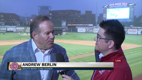 South Bend Cubs owner discusses economic development, Pitbull cancellation