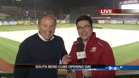 South Bend Cubs owner prepares for opening day