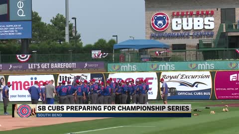 South Bend Cubs preparing for championship series