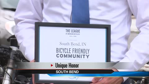 South Bend designated a Bicycle Friendly Community