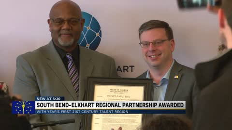 South Bend-Elkhart area declared as Indiana's 21st Century...