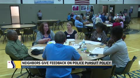 South Bend FOP discusses SBPD vehicle pursuit policy at public safety meeting