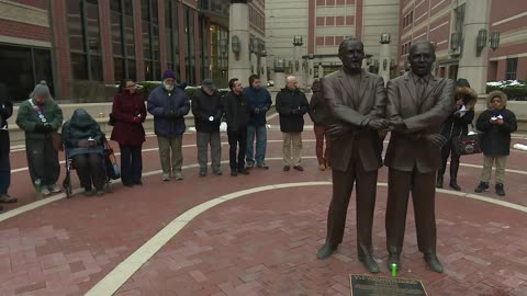 South Bend neighbors honor Dr. Martin Luther King, Jr. hand in hand