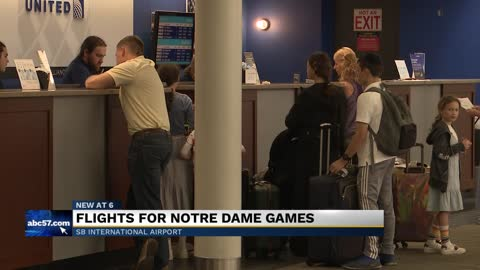 South Bend International Airport introduces daily flights to...