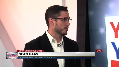 South Bend mayoral candidate Sean Haas discusses campaign