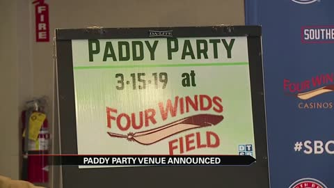 South Bend Paddy Party venue announced