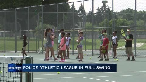 South Bend Police Athletic League summer camp connects officers with local kids