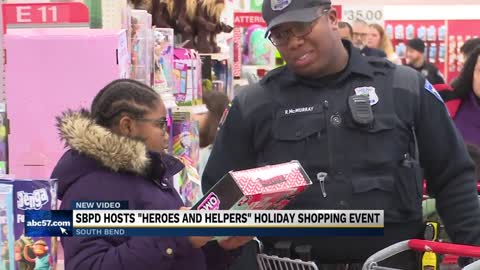 "South Bend Police host ""Heroes and Helpers"" event"