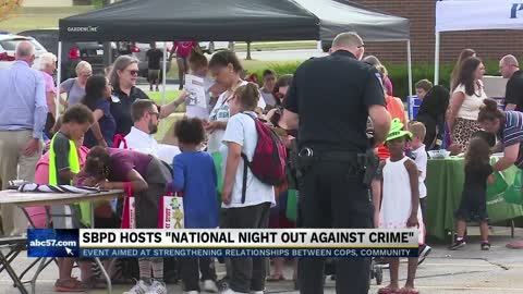 South Bend Police host National Night Out