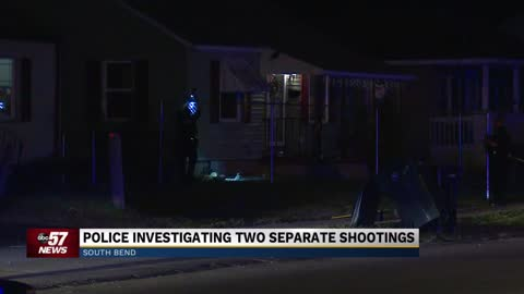 South Bend Police investigating two separate overnight shootings