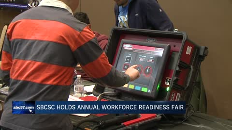 South Bend School Corporation holds Workforce Readiness Fair for students