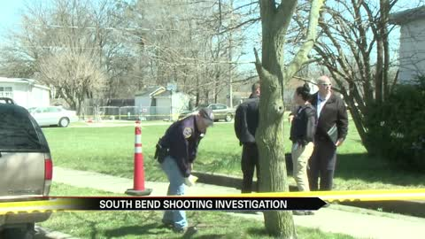 South Bend Police investigate shooting that left one person injured