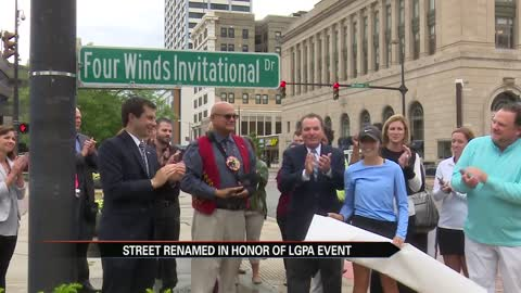 South Bend street renamed in honor of Four Winds Invitational