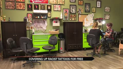 South Bend tattoo parlor covers up racist tattoos free of charge