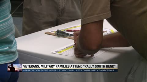 South Bend Veteran Rally brought community together Friday