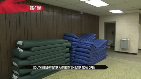 South Bend Winter Amnesty facility is now open