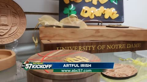 South Bend Woodworks creates unique Notre Dame merchandise