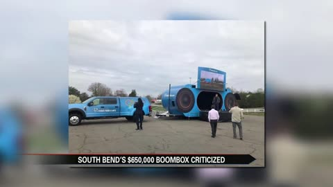 South Bend $650,000 boombox criticized