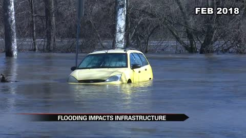 South Bend's infrastructure sees impact from historic flooding