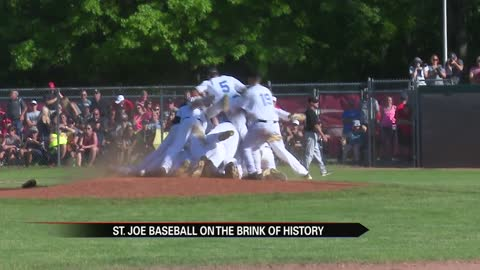 St. Joe baseball ready to make history at State Championship