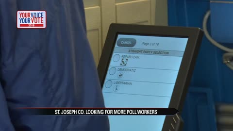 St. Joseph County poll workers needed