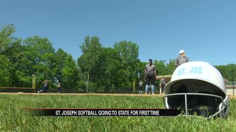 St. Joe softball already making history before state championship