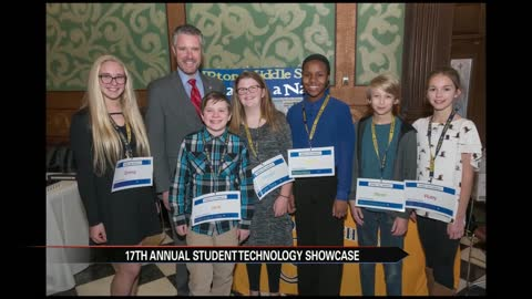 St. Joe students take part in technology showcase at state capitol