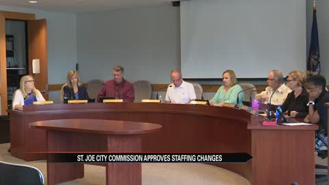St. Joseph City Commission approves staff changes