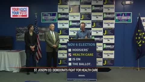 St. Joseph County Democrats fight for healthcare