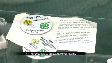 St. Joseph County fair hosted athletes from Special Olympics in 1987