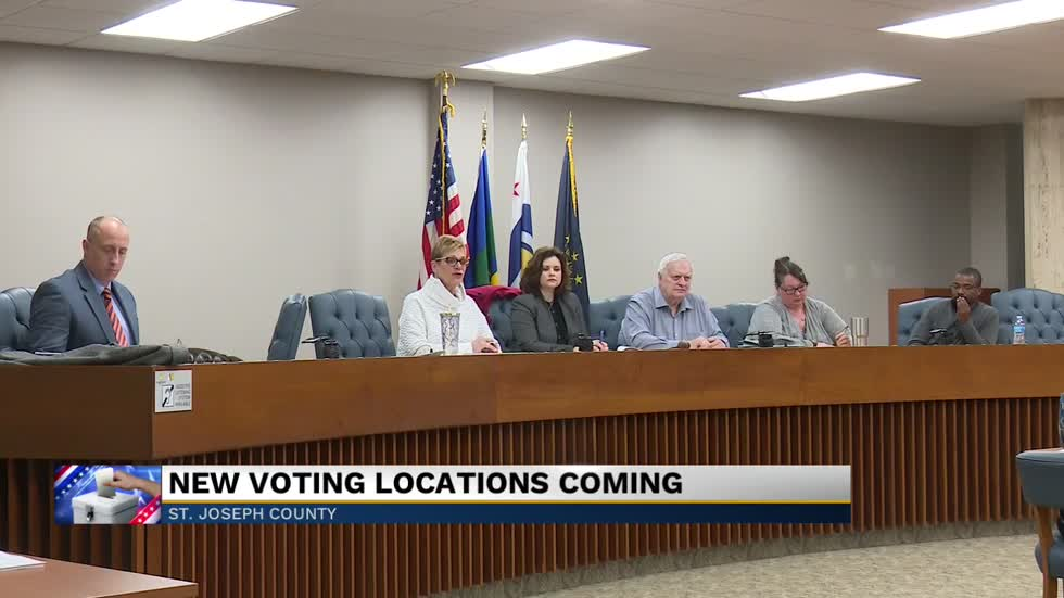 St Joseph County Officials Discuss Changes To Voting