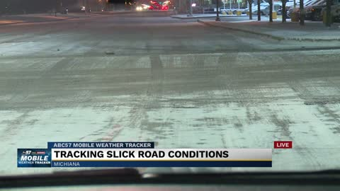 St. Joseph County placed under travel advisory as patchy freezing drizzle develops