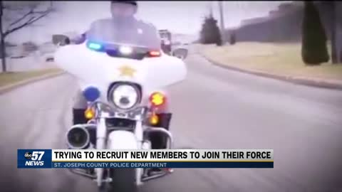 St. Joseph County Police Department posts recruitment video