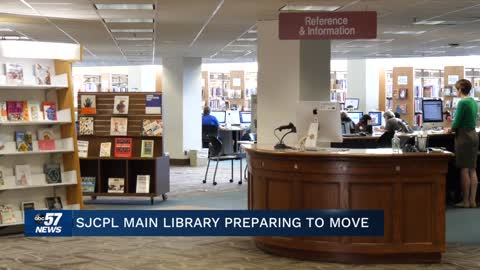 St. Joseph County Library preparing for temporary move