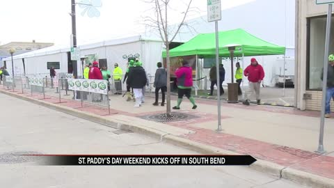 St. Patrick's Day fun kicks off in South Bend
