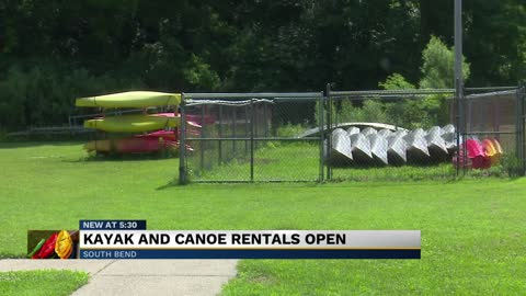 St. Patrick's Park now allowing people to rent kayaks and canoes