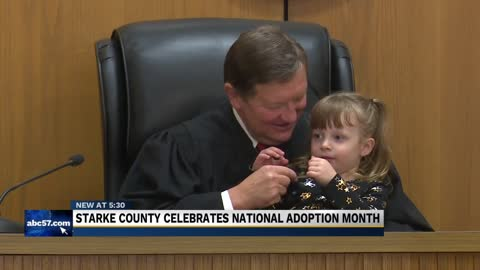 Starke county celebrates national adoption month