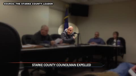 Starke County councilman expelled