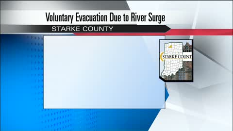 Starke County residents advised to evacuate low lying areas
