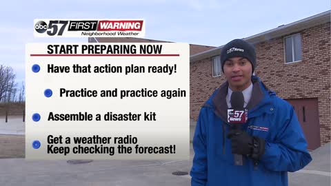 Severe weather preparedness week starts
