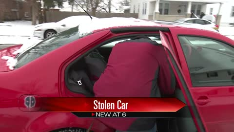 Man's car stolen while warming up, found a block away at neighbor's home