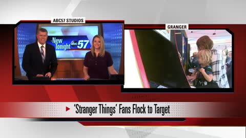Netflix hit show 'Stranger Things' came to Granger