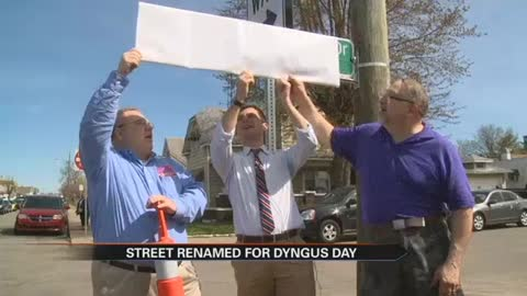 Streets renamed for Dyngus Day and Solidarity Day