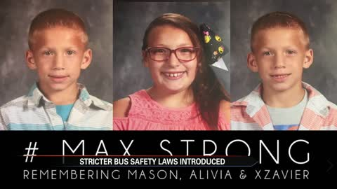 Parents of 3 children killed in Fulton Co. bus crash help draft bus safety legislation