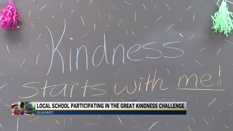 Students at Jimtown Intermediate participate in kindness challenge