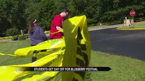 Plymouth High School students gear up for major fundraiser during Blueberry Festival