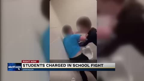 Students charged in Discovery Middle School fight